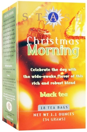 DROPPED: Stash Tea - Premium Christmas Morning Black Tea - 18 Tea Bags
