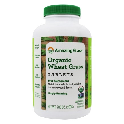 Amazing Grass - Wheat Grass 1000 mg. - 200 Tablets