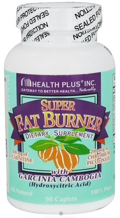 DROPPED: Health Plus - Super Fat Burner with Garcinia Cambogia - 60 Caplets