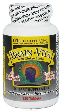 Zoom View - Brain Vita with Ginkgo Biloba