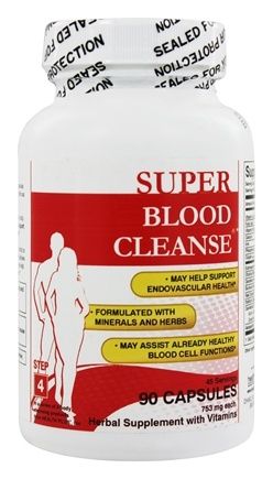 Health Plus - Blood Cleanse Total Body Cleansing System - 90 Capsules