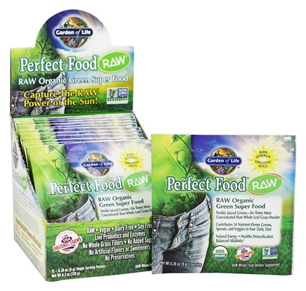 Garden of Life - Perfect Food RAW - 15 Packet(s)