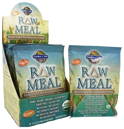 DROPPED: Garden of Life - RAW Meal Beyond Organic Meal Replacement Formula - 10 Packet(s)