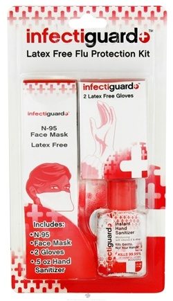 DROPPED: Dr. Fresh - InfectiGuard Latex Free Flu Protection Kit - CLEARANCE PRICED