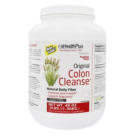Health Plus - Colon Cleanse The Original High Fiber - 48 oz.