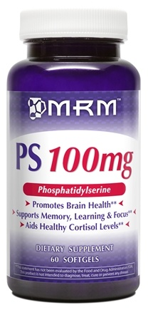 DROPPED: MRM - PS Phosphatidylserine 100 mg. - 60 Softgels CLEARANCE PRICED