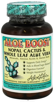 DROPPED: Aloe Life - Aloe Boost - 90 Tablets CLEARANCE PRICED