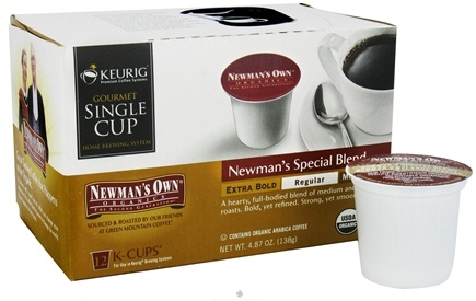 DROPPED: Keurig - Newman's Own Organics Newman's Special Blend Coffee 12 K-Cups - 4.87 oz. CLEARANCE PRICED
