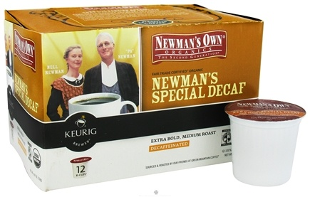 DROPPED: Keurig - Newman's Own Organics Newman's Special Decaf Coffee 12 K-Cups - 4.87 oz.