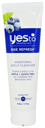 DROPPED: Yes To - Blueberries Cleanser Smoothing Daily Age Refresh - 3 oz. CLEARANCE PRICED