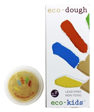 Zoom View - Eco Molding Dough Original Formula 5 x 4 oz. Containers