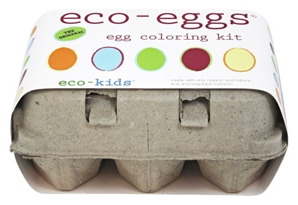 Zoom View - Eco-Eggs Easter Egg Coloring Kit