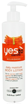 DROPPED: Yes To - Carrots Body Lotion Nourishing Daily Moisture - 8.45 oz. CLEARANCE PRICED