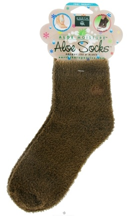 Zoom View - Aloe Socks Foot Therapy To Pamper & Moisturize