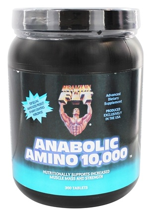 Healthy N' Fit - Anabolic Amino 10000 - 360 Tablets