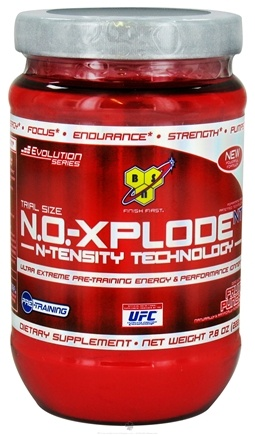 DROPPED: BSN - NO-Xplode NT Pre-Training Energy & Performance Igniter Trial Size 10 Servings Fruit Punch - 7.8 oz. CLEARANCE PRICED