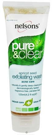Zoom View - Pure & Clear Apricot Seed Exfoliating Wash Acne Care