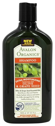 Zoom View - Shampoo Extra Moisturizing Olive & Grape Seed