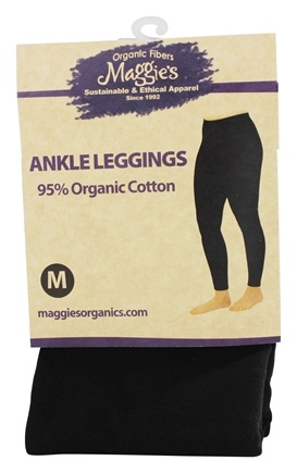 DROPPED: Maggie's Organics - Tights Footless Medium Black - 1 Pair