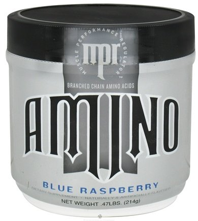 DROPPED: MPR - Amino Branched Chain Amino Acids Blue Raspberry - 214 Grams CLEARANCE PRICED