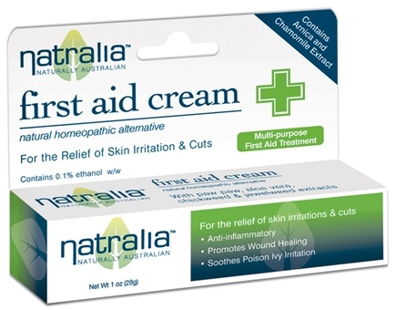 DROPPED: Natralia - First Aid Cream Homeopathic - 1 oz.