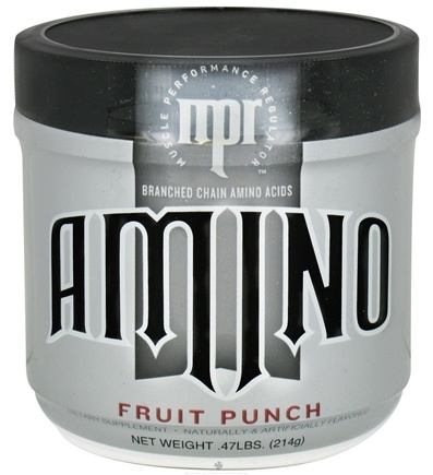 DROPPED: MPR - Amino Branched Chain Amino Acids Fruit Punch - 214 Grams CLEARANCE PRICED