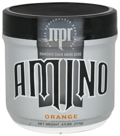 DROPPED: MPR - Amino Branched Chain Amino Acids Orange - 214 Grams CLEARANCE PRICED