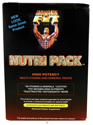 DROPPED: Healthy N' Fit - Nutri Pack High Potency Multi-Vitamin and Mineral - 30 Packet(s)