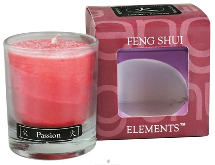 DROPPED: Aloha Bay - Feng Shui Palm Wax Jar Candle Fire Passion - 2.5 oz. CLEARANCE PRICED