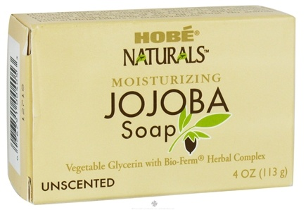 DROPPED: Hobe Labs - Moisturizing Jojoba Bar Soap Unscented - 4 oz. CLEARANCE PRICED