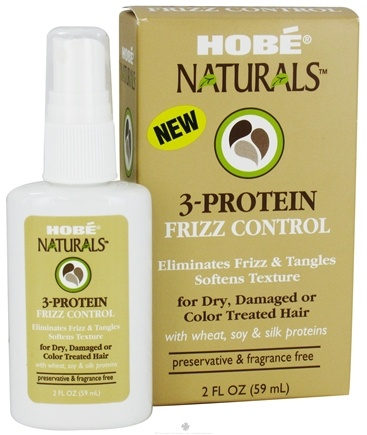 Zoom View - 3-Protein Frizz Control For Dry Damaged or Color Treated Hair