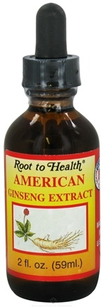 DROPPED: Root To Health - American Ginseng Extract - 2 oz.