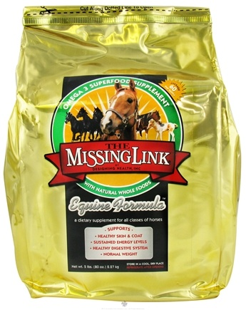 DROPPED: Designing Health - The Missing Link Equine Formula With Joint Support For Horses - 5 lbs. CLEARANCE PRICED