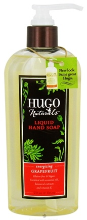 DROPPED: Hugo Naturals - Liquid Hand Soap Energizing Grapefruit - 8 oz.