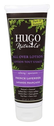 Hugo Naturals - All Over Lotion Calming French Lavender - 8 oz.