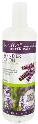 DROPPED: Mill Creek Botanicals - Hand & Body Lotion Lavender - 16 oz. CLEARANCE PRICED