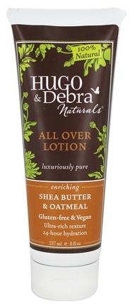 Hugo Naturals - All Over Lotion Enriching Shea Butter & Oatmeal - 8 oz.