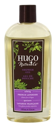 DROPPED: Hugo Naturals - Shower Gel Calming French Lavender - 12 oz.