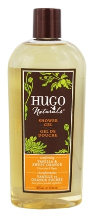 Hugo Naturals - Shower Gel Comforting Vanilla & Sweet Orange - 12 oz.