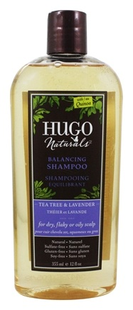 Hugo Naturals - Shampoo Balancing Tea Tree & Lavender - 12 oz.
