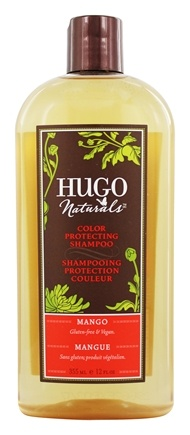 Hugo Naturals - Shampoo Color Protecting Mango - 12 oz.