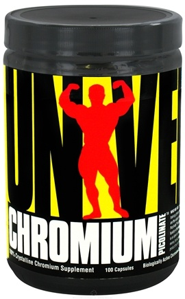 DROPPED: Universal Nutrition - Chromium Picolinate - 100 Capsules CLEARANCE PRICED