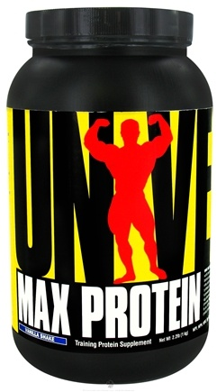 DROPPED: Universal Nutrition - Max Protein Vanilla Shake - 2.2 lbs. CLEARANCE PRICED