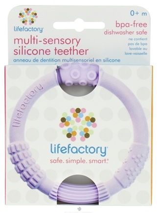 Zoom View - Multi-Sensory Silicone Teether