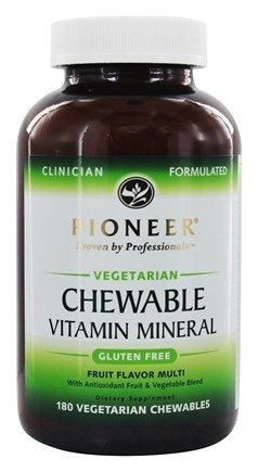 Zoom View - Chewable Vitamin Mineral