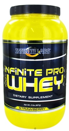 DROPPED: Infinite Labs - Infinite Pro 100% Whey Protein Strawberry - 2 lbs. CLEARANCE PRICED