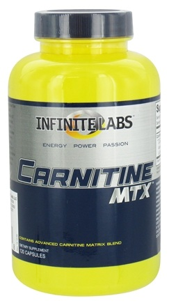 DROPPED: Infinite Labs - Carnitine MTX - 120 Capsules