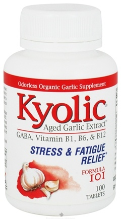 DROPPED: Kyolic - Formula 101 Aged Garlic Extract Stress & Fatigue Relief - 100 Tablets