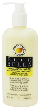Ecco Bella - Herbal Body Lotion Lemon Verbena - 8 oz.
