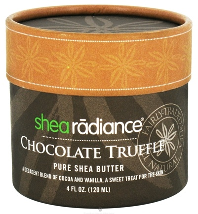 DROPPED: Shea Radiance - Pure Shea Butter Chocolate Truffle - 4 oz. CLEARANCE PRICED